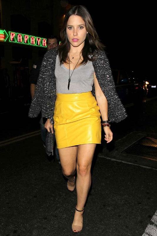 Sophia Bush Leaves Sayers Club Hollywood