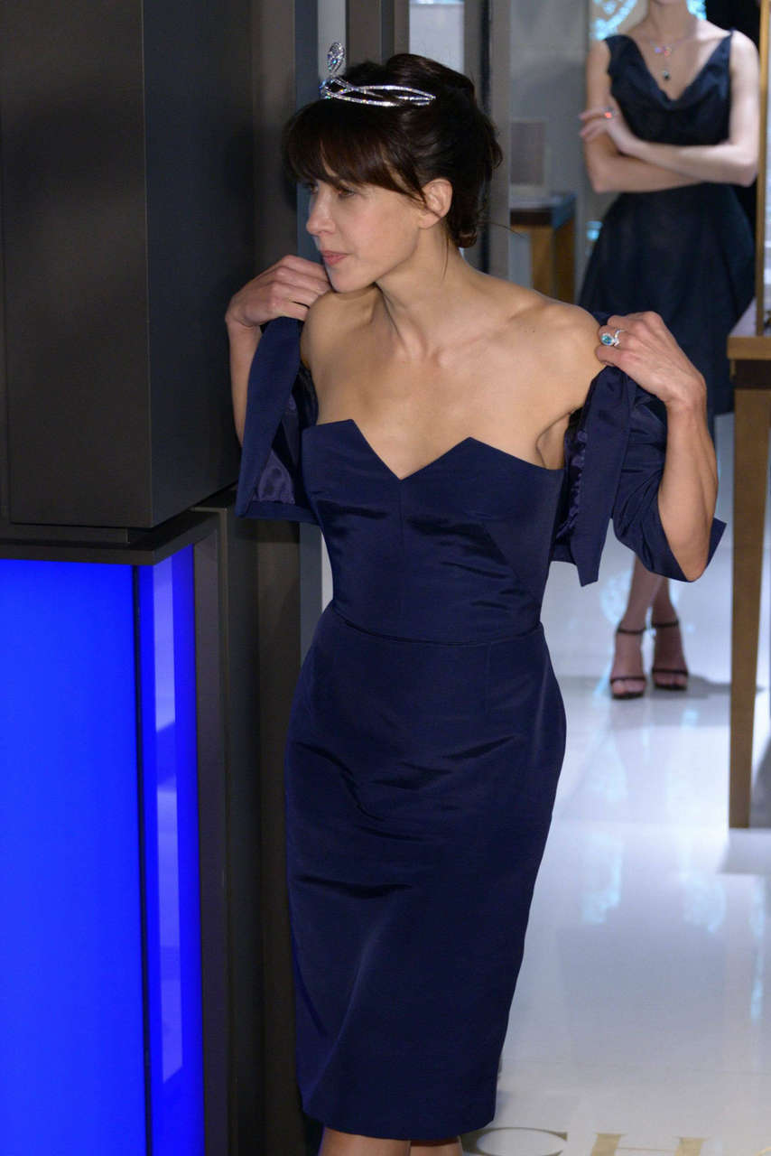 Sophie Marceau Chaumet Store Opening Paris