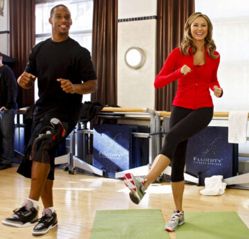 Stacy Keibler Launch Your Shape Fitness Evolved 2012 Videogame
