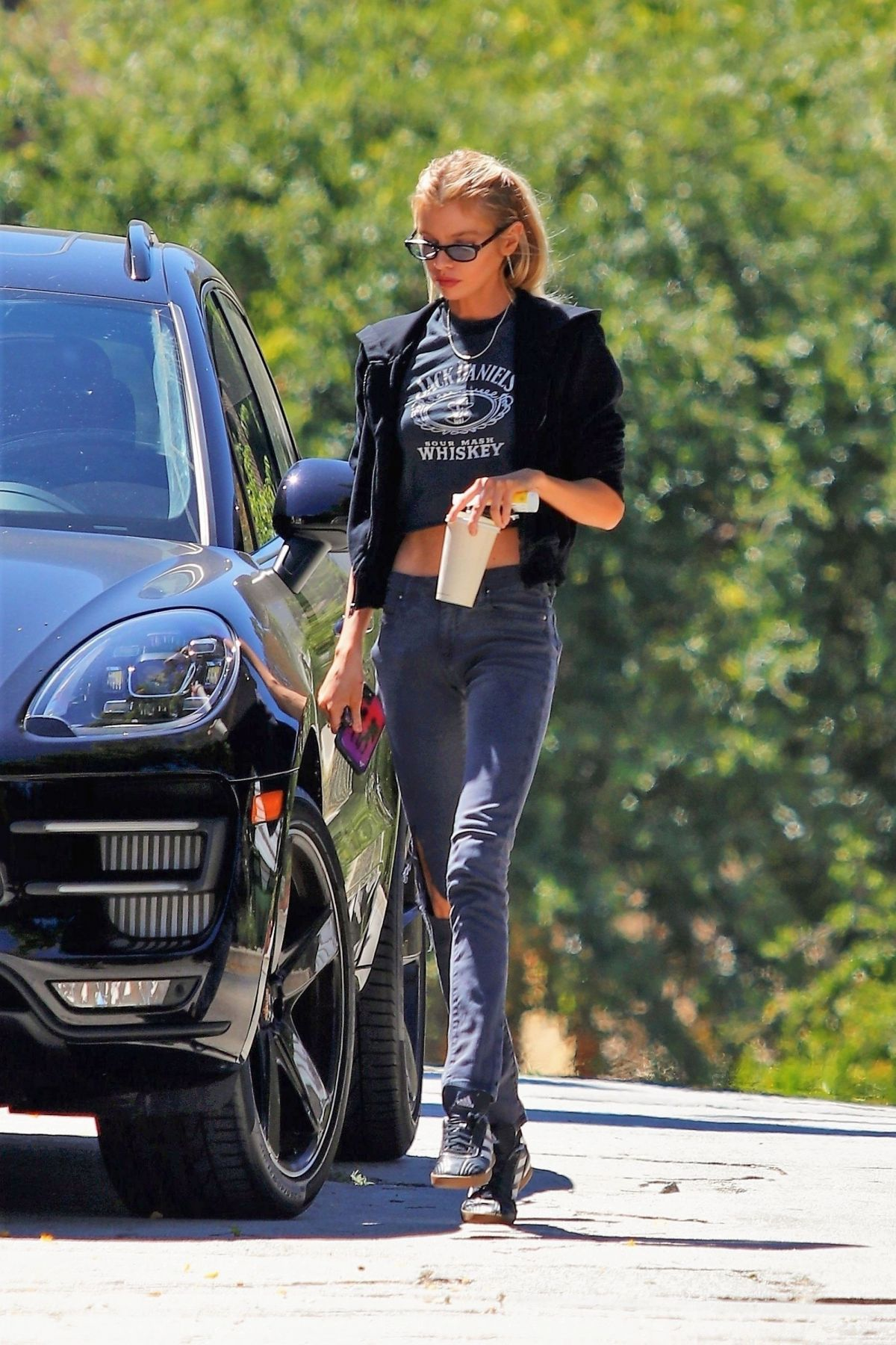 Stella Maxwell Out Shopping Los Angeles