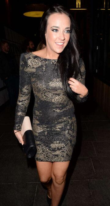 Stephanie Davis Gemma Mernas Leaving Party Manchester
