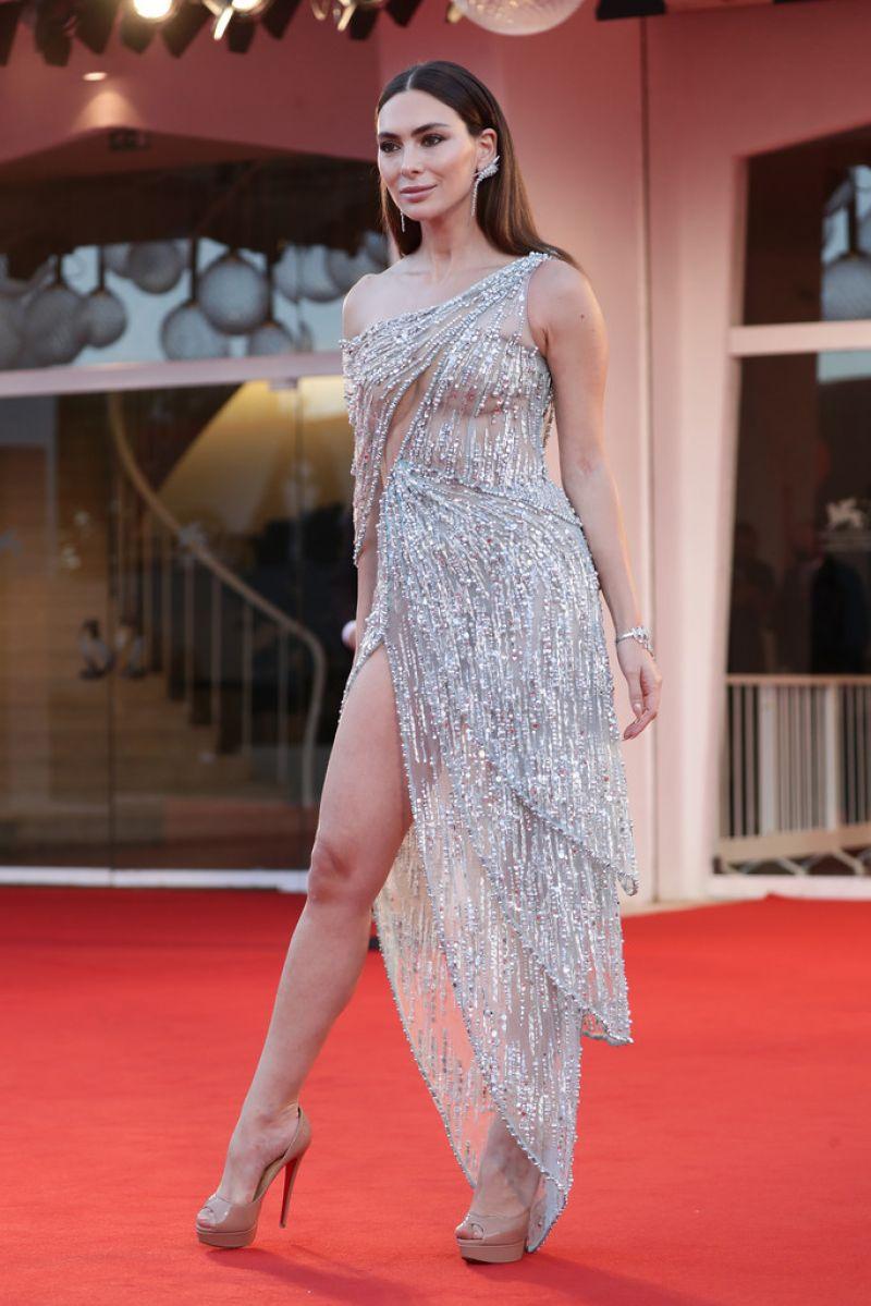 Stephanie Saliba Nomadland Screening 2020 Venice Film Festival