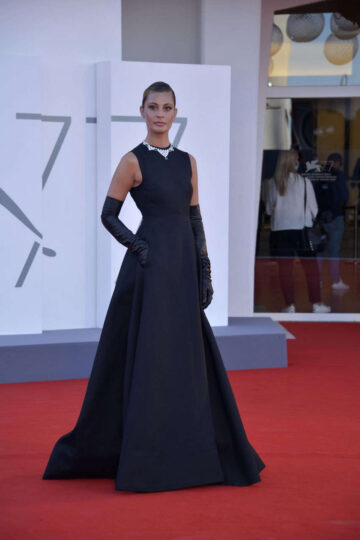 Sveva Alviti 77th Venice Film Festival Opening Ceremony
