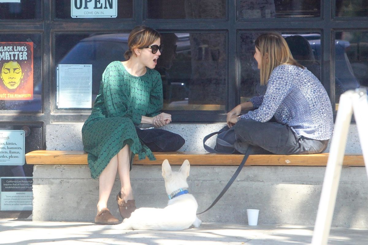 Sylvia Heoks Out With Friend West Hollywood