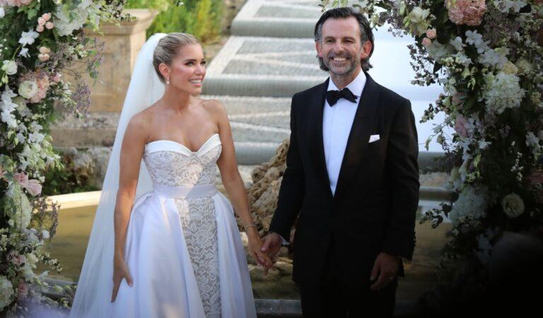 Sylvie Meis Nicals Castello Wdding Ceremony Italy (16 photos)