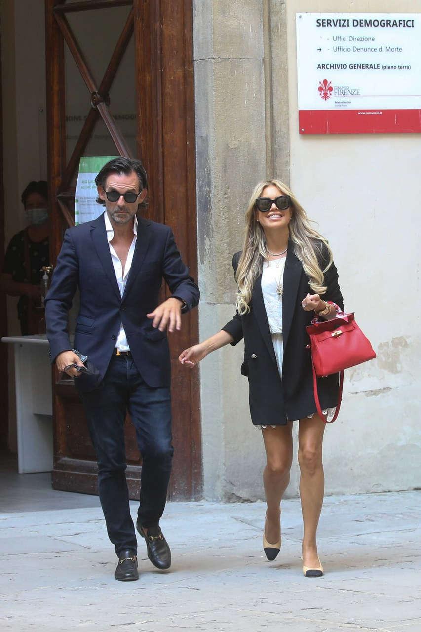Sylvie Meis Niclas Castello Pre Wedding Party Italy