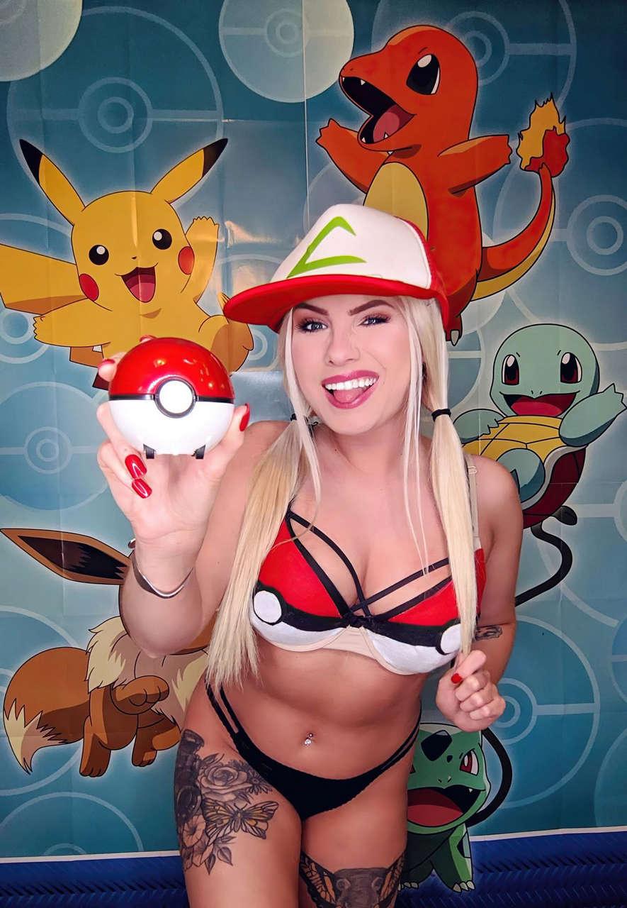 Tabby Ridiman Pokemon Photoshoot September