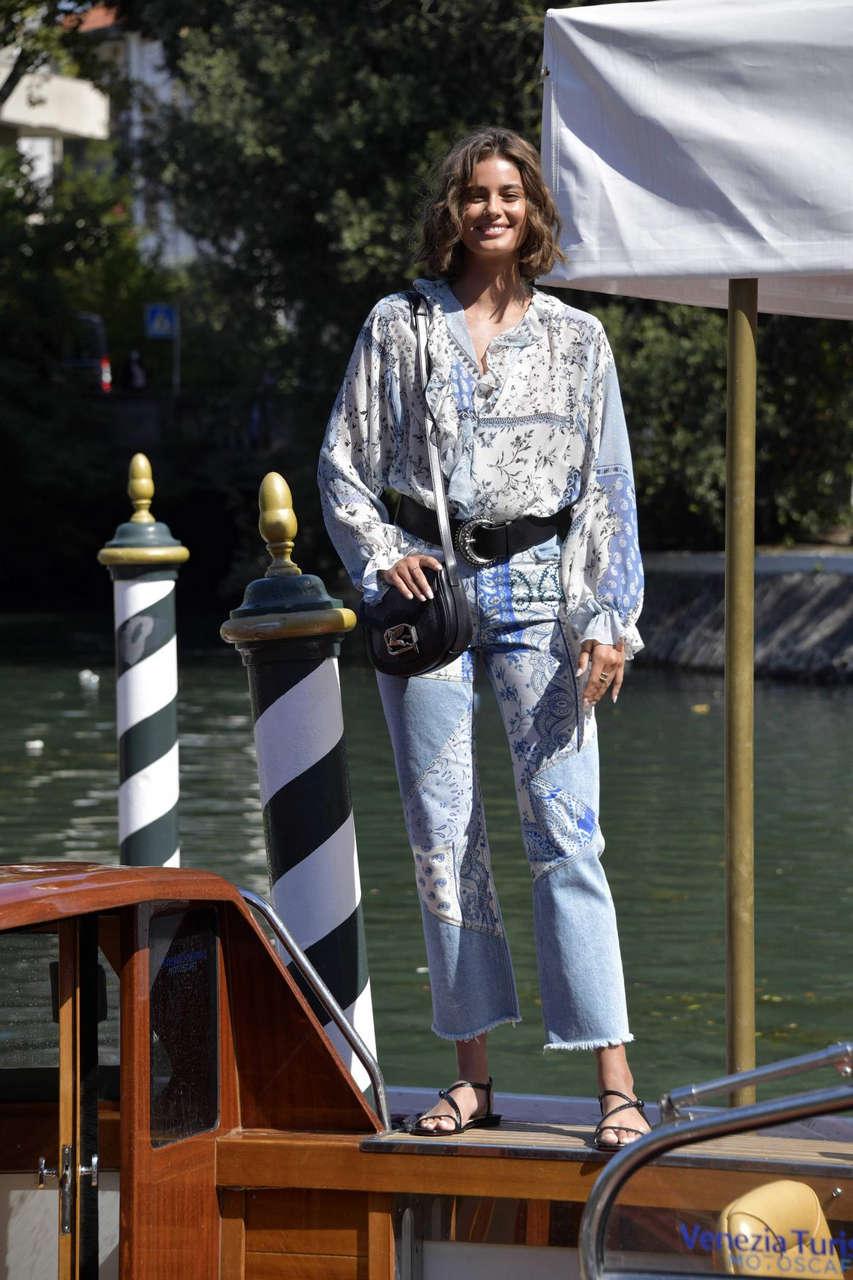 Taylor Marie Hill Arrives Lido 2020 Venice Film Festival