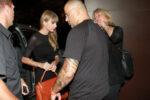 Taylor Swift Arrives Carioca Restaraunt Rio De Janeiro