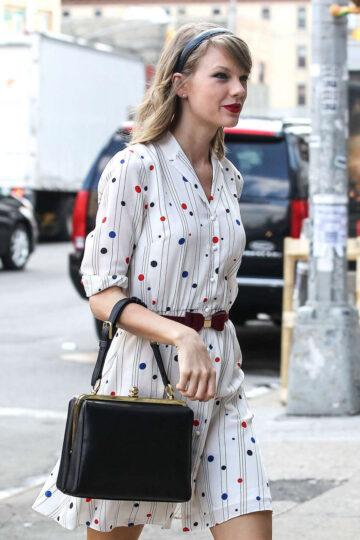 Taylor Swift Leaves Gym New York