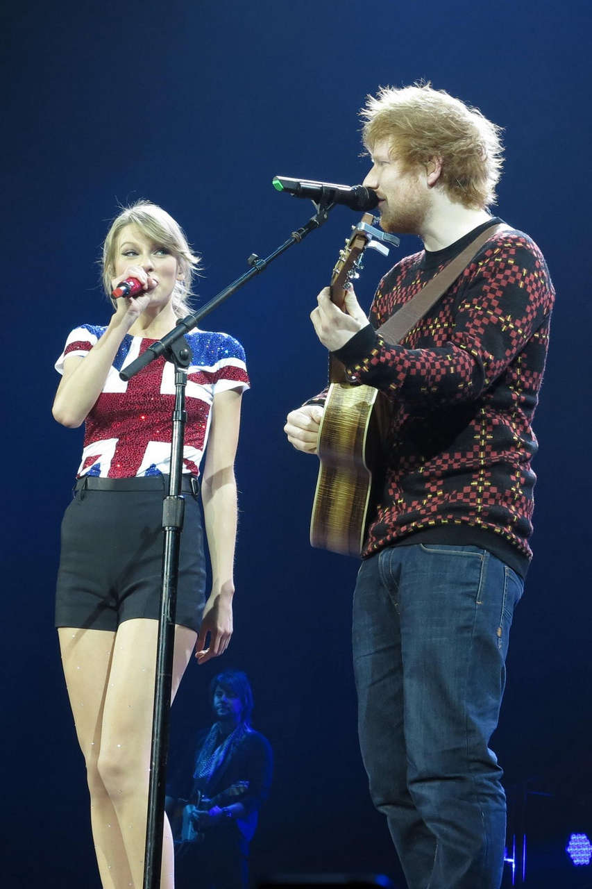 Taylor Swift Performs Her Red Tour O2 Arena London