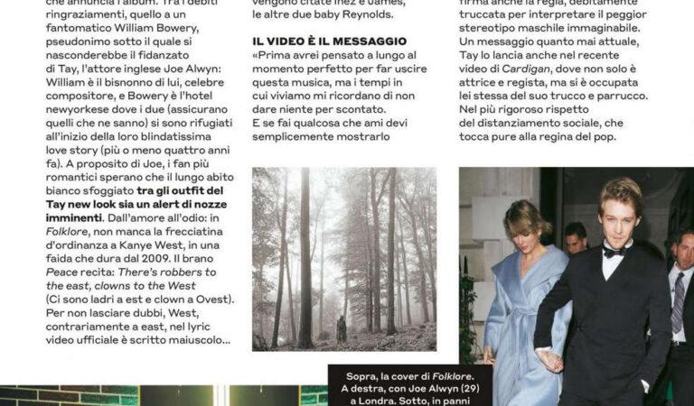 Taylor Swift Tu Style Magazine August (4 photos)