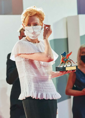 Tilda Swinton 77th Venice Film Festival Opening Ceremony