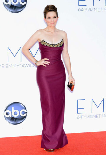 Tina Fey 64th Primetime Emmy Awards Los Angeles
