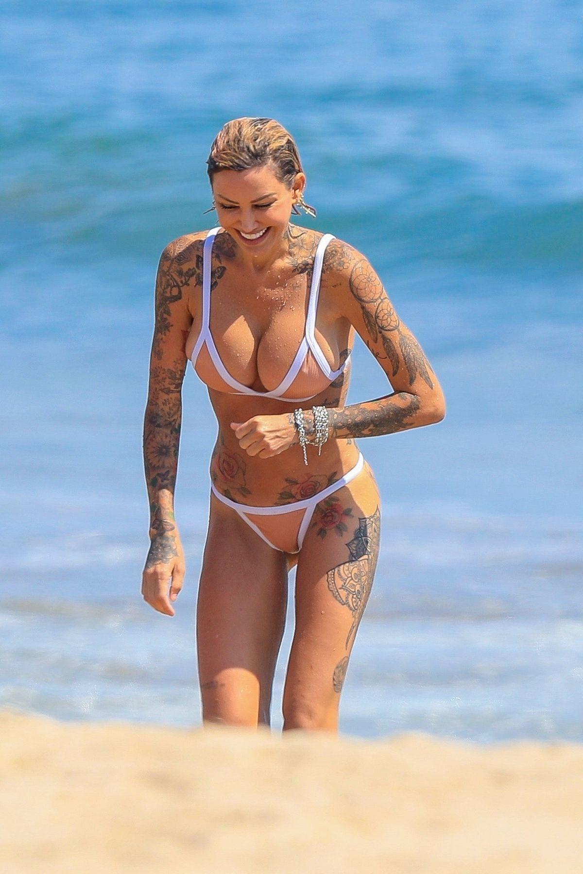 Tina Louise Bikini Beach Malibu