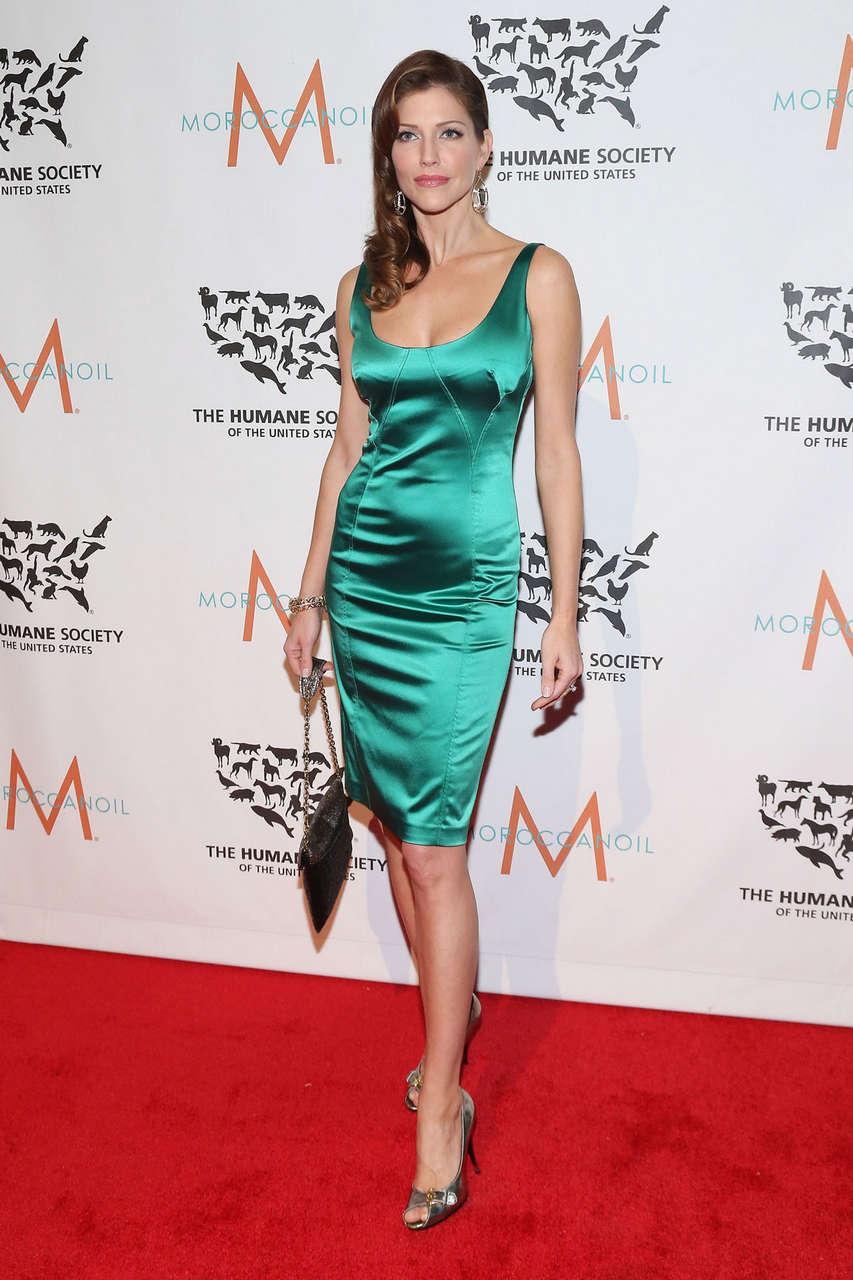Tricia Helfer Humane Society To Rescue Gala New York