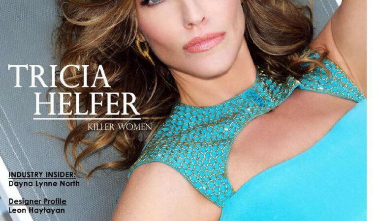 Tricia Helfer Regard Magazine February 2014 Issue (17 photos)