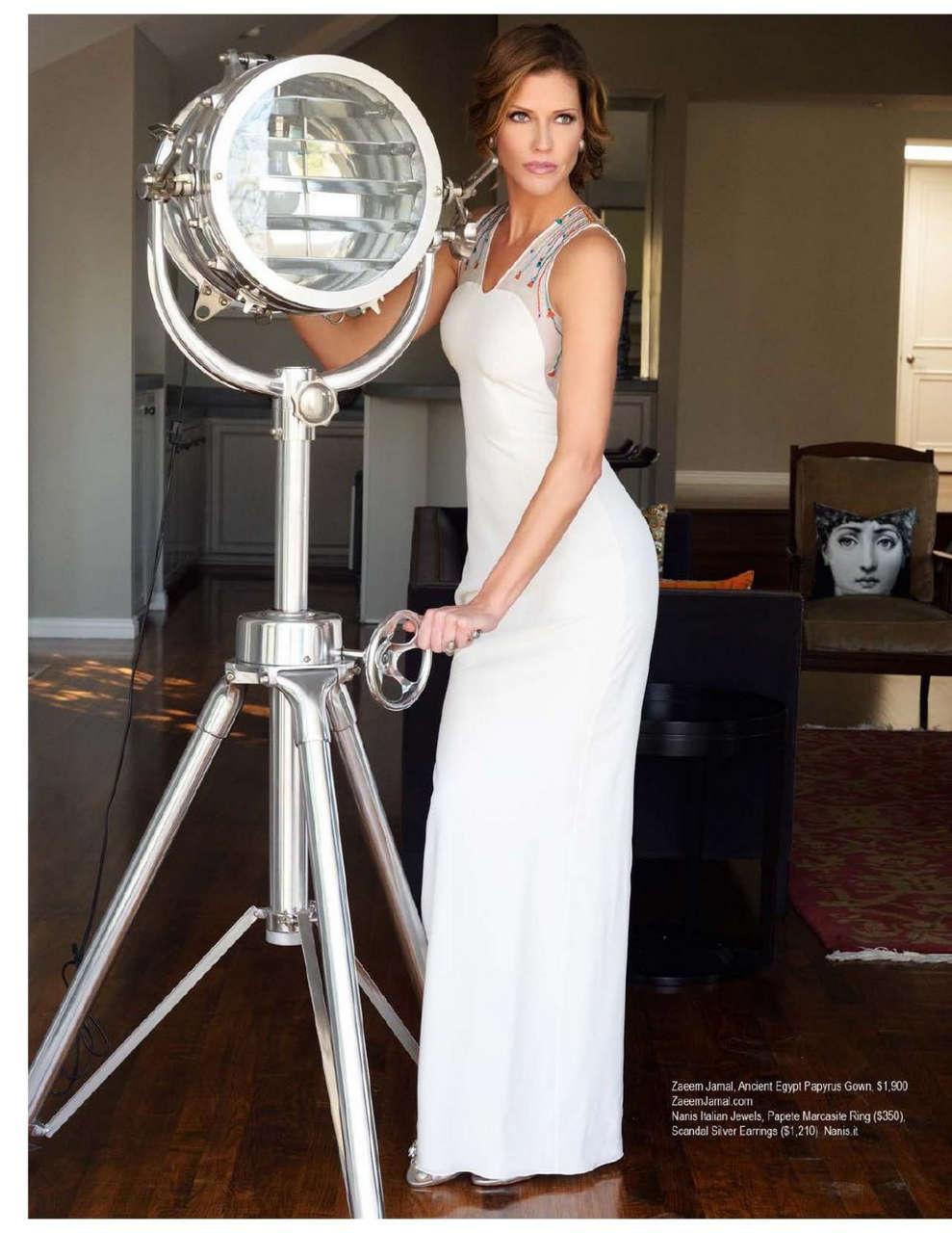 Tricia Helfer Regard Magazine February 2014 Issue
