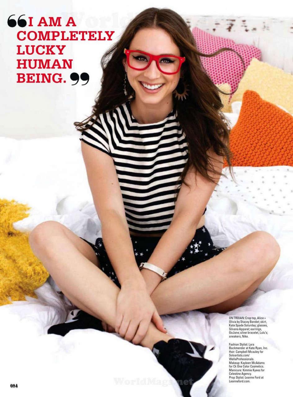 Troian Bellisario Seventeen Magazine February 2014 Issue