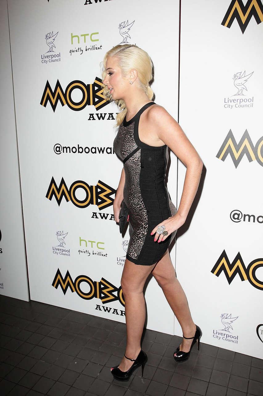 Tulisa Contostavlos Mobo Awards Nominations Launch London