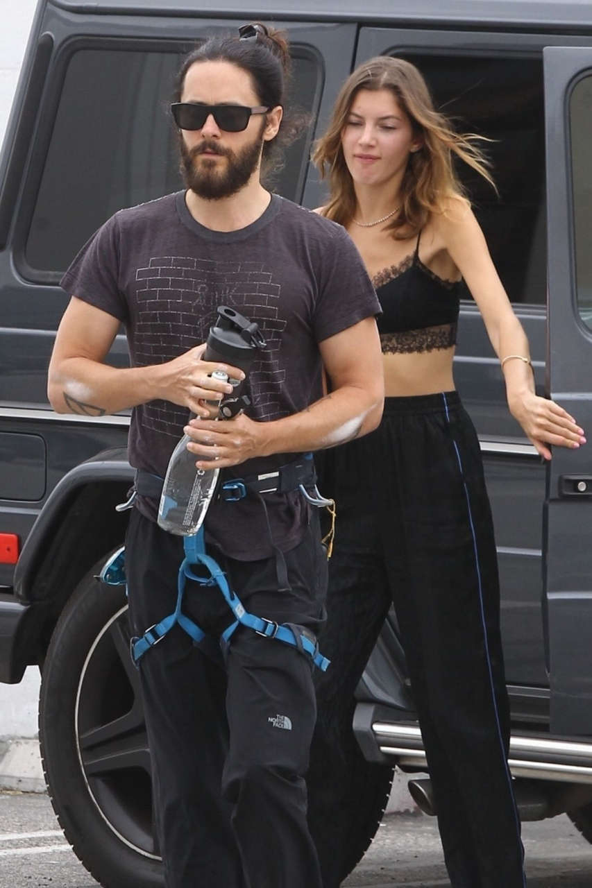 Valery Kaufman Arrives Gym Los Angeles