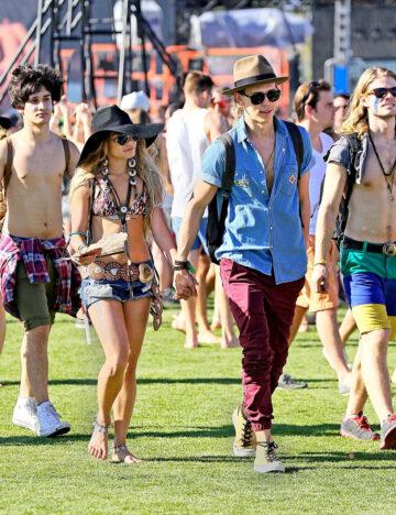 Vanessa Hudgens 2014 Coachella Music Arts Festival Indio