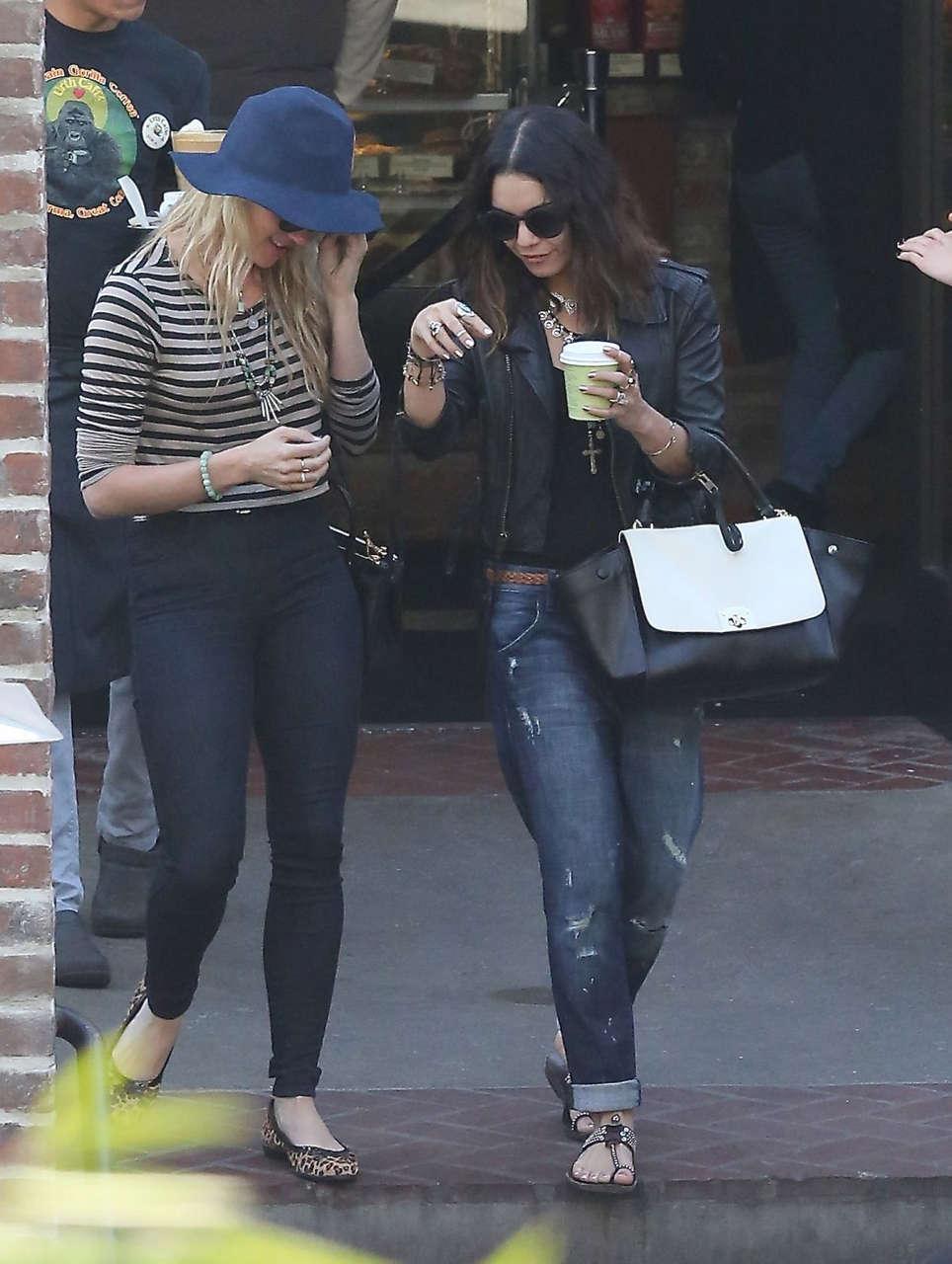 Vanessa Hudgens Leaves Urth Caffe Los Angeles