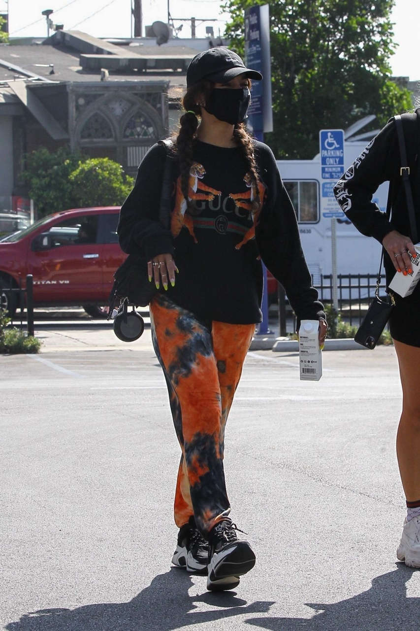 Vanessa Hudgens Out About West Hollywood