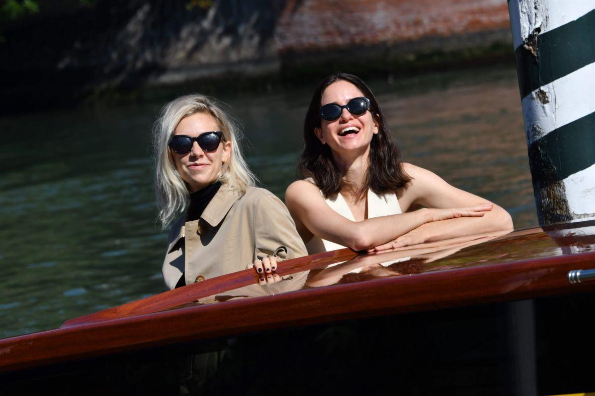 Vanessa Kirby Katherine Waterston 77th Venice Film Festival