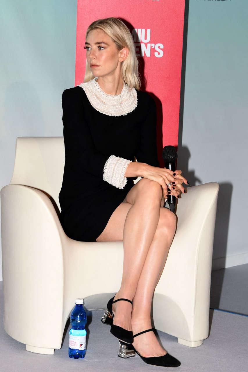 Vanessa Kirby Miu Miu Womans Tales Press Conference 2020 Venice Film Festival
