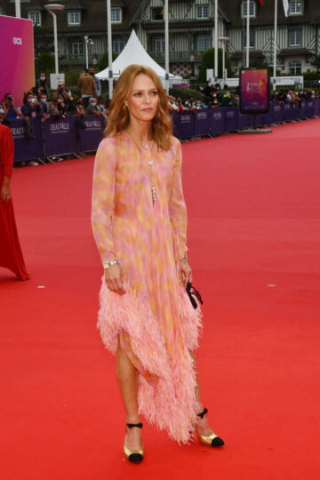 Vanessa Paradis 46th Deauville American Film Festival Opening France