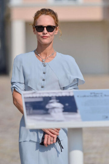 Vanessa Paradis Inauguration Lgabrielle Chanel Square 46th Deauville American Film Festival