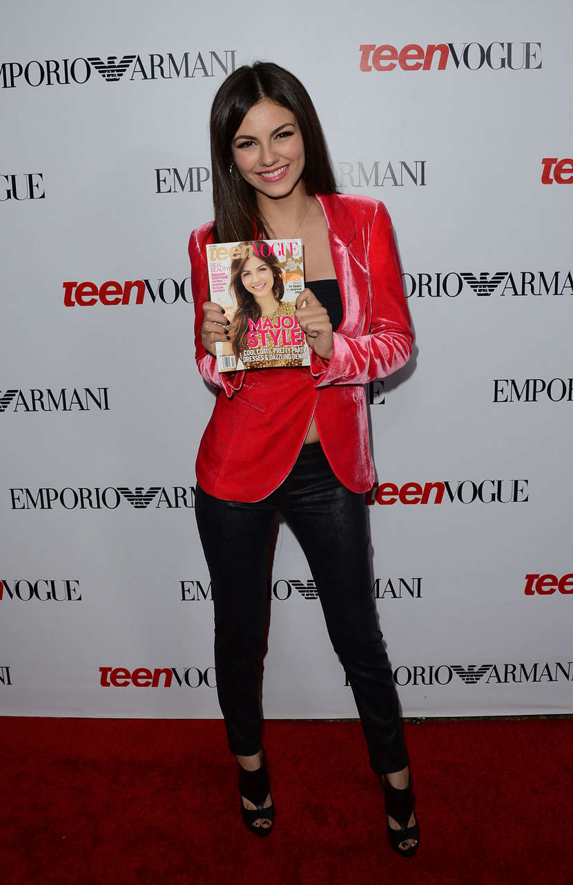 Victoria Justice 10th Annual Teen Vogue Young Hollywood Party