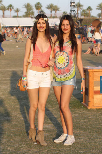 Victoria Justice And Her Sister