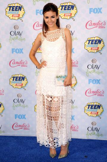 Victoria Justice Teen Choice Awards 2014 Los Angeles