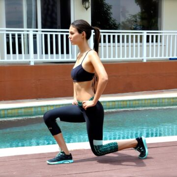 Victoria Justice Working Out