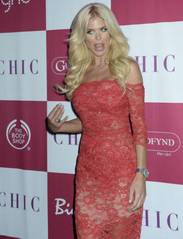 Victoria Silvsedt Chic Celebrity Year Stockholm