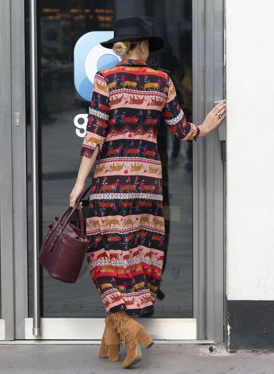 Vogue Williams Arrives Heart Radio London