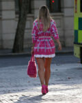 Vogue Williams Leaves Heart Radio Show London