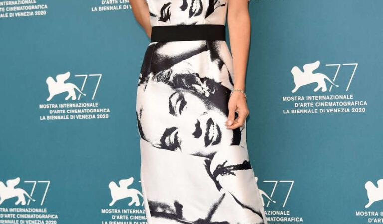 Weronika Rosati Never Gonna Snow Again Photocall 2020 Venice Film Festival (7 photos)