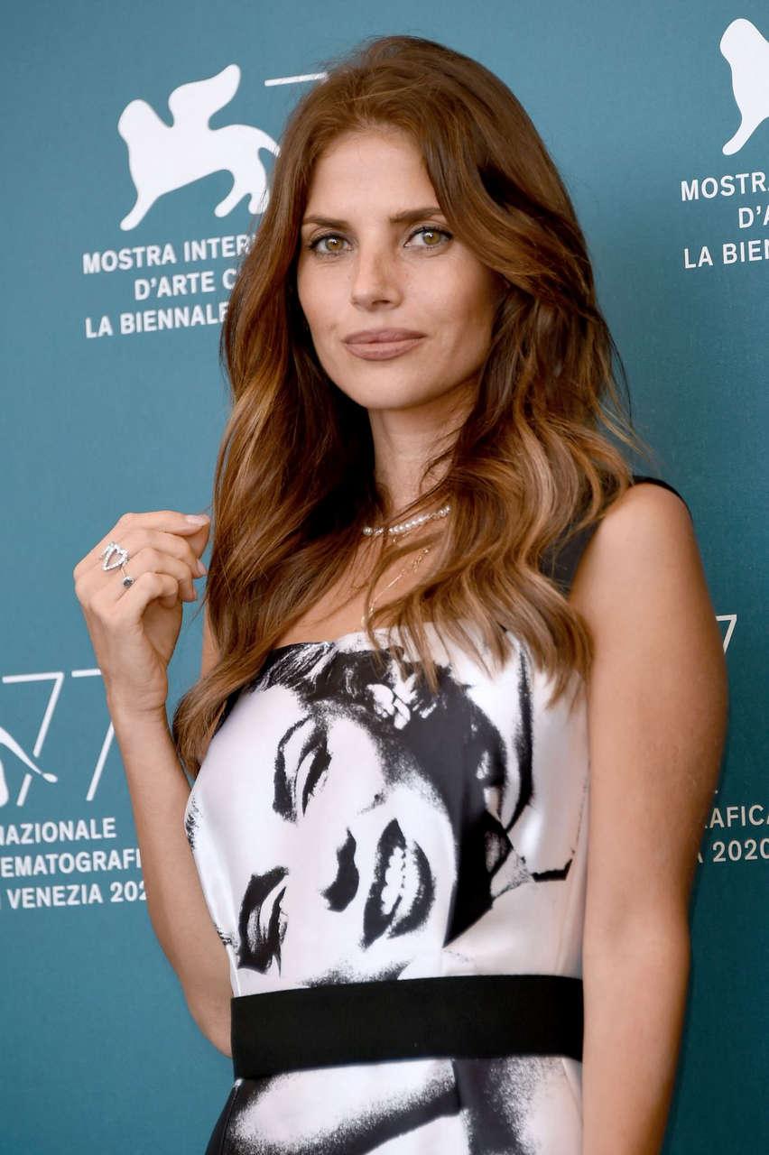 Weronika Rosati Never Gonna Snow Again Photocall 2020 Venice Film Festival