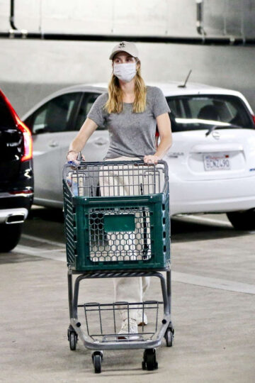 Whitney Port Out Shopping Los Angeles