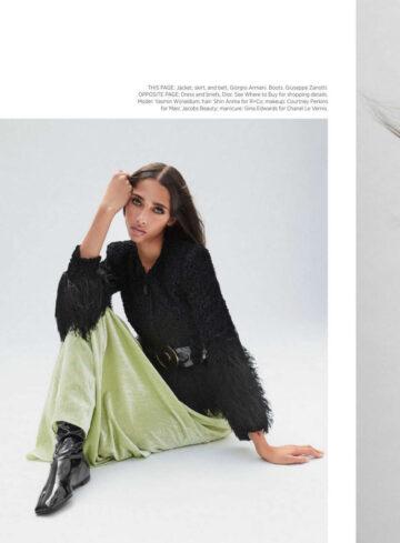 Yasmin Wijnaldum Harper S Bazaar Magazine October
