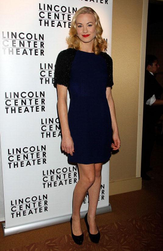 Yvonne Strahovski Golden Boy Opening Night Party New York