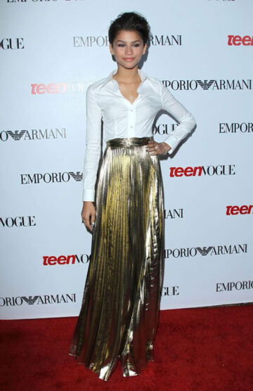 Zendaya Coleman 10th Annual Teen Vogue Young Hollywood Party