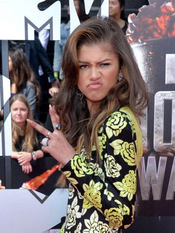 Zendaya Coleman Mtv Movie Awards 2014 Los Angeles