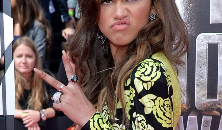 Zendaya Coleman Mtv Movie Awards 2014 Los Angeles (28 photos)