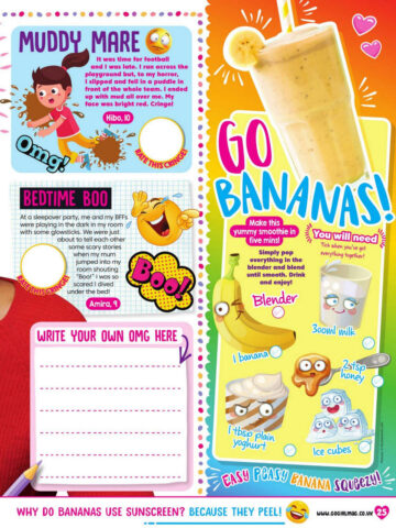 Zendaya Go Girl Magazine August