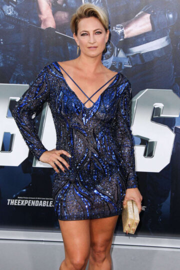 Zoe Bell Expendables 3 Premiere Hollywood