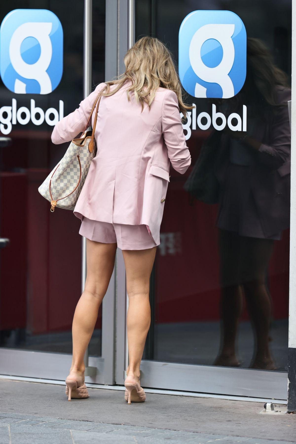 Zoe Hardman Arrives Global Studios London